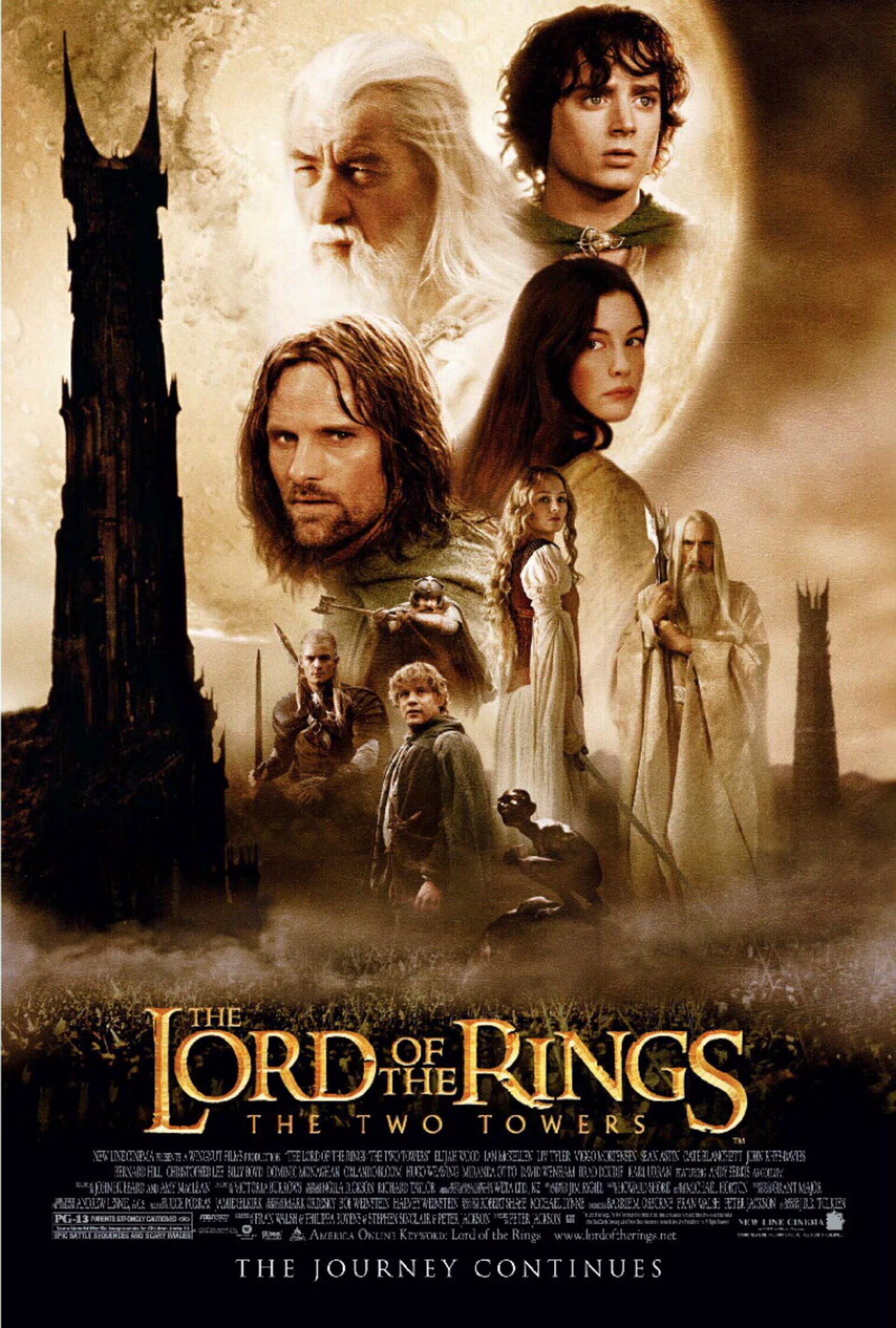 The Lord of the Rings: The Two Towers - Poster 1