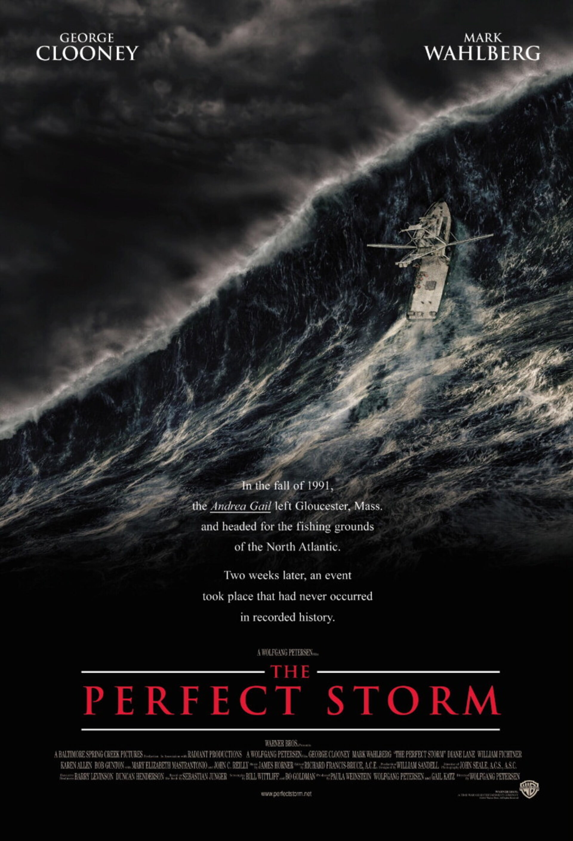 The Perfect Storm - Poster 1