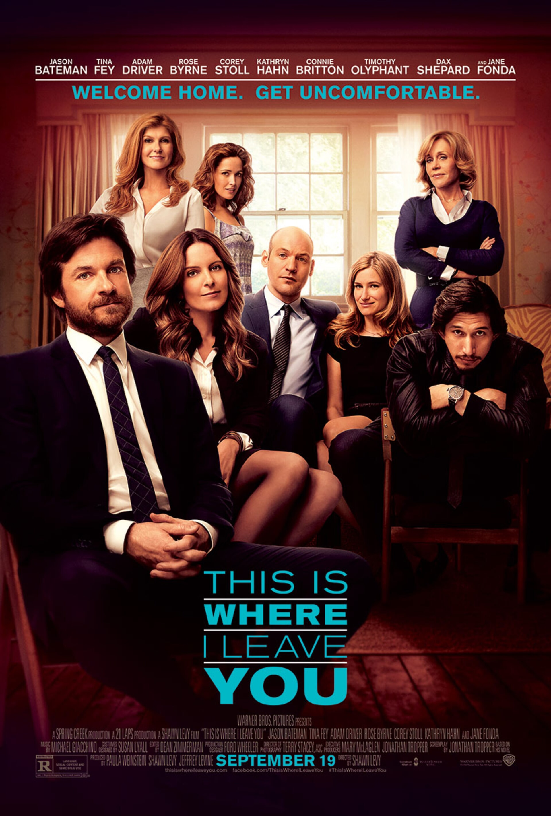 This Is Where I Leave You - Poster 1