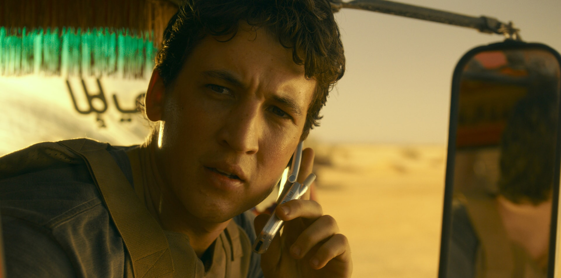 """MILES TELLER as David in Warner Bros. Pictures' comedic drama (based on true events) """"WAR DOGS,"""" a Warner Bros. Pictures release."""