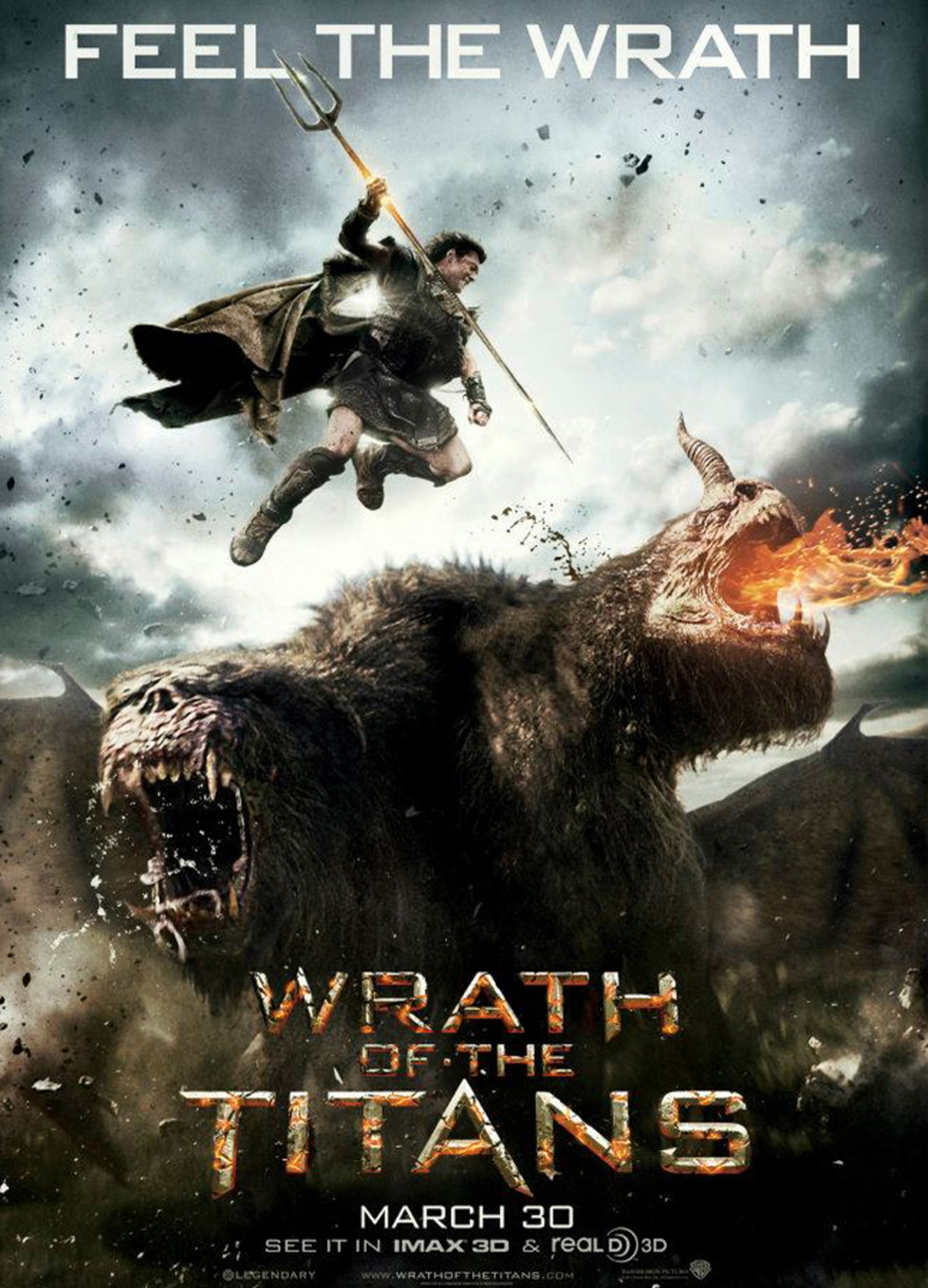 Wrath of the Titans - Poster 1
