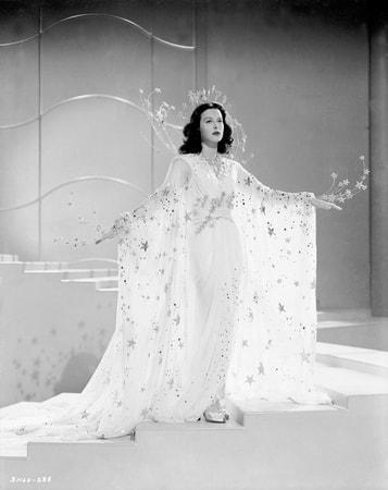 Full shot of Hedy Lamarr as Mrs. Sondra Kolter.