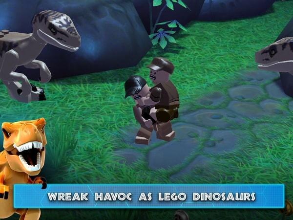 LEGO Jurassic World - Wreak Havoc as LEGO Dinosaurs