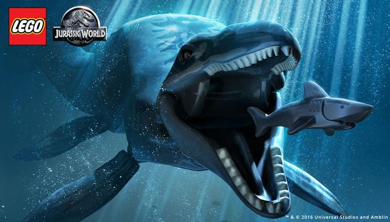 LEGO Jurassic World - underwater dinosaurs