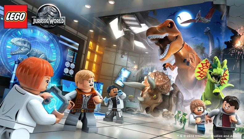 LEGO Jurassic World - Dino Lab Disaster