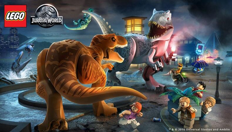 LEGO Jurassic World - Final Dino Battle