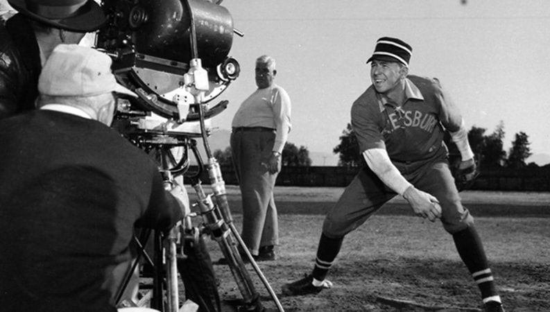 ronald reagan as grover cleveland alexander in the winning team
