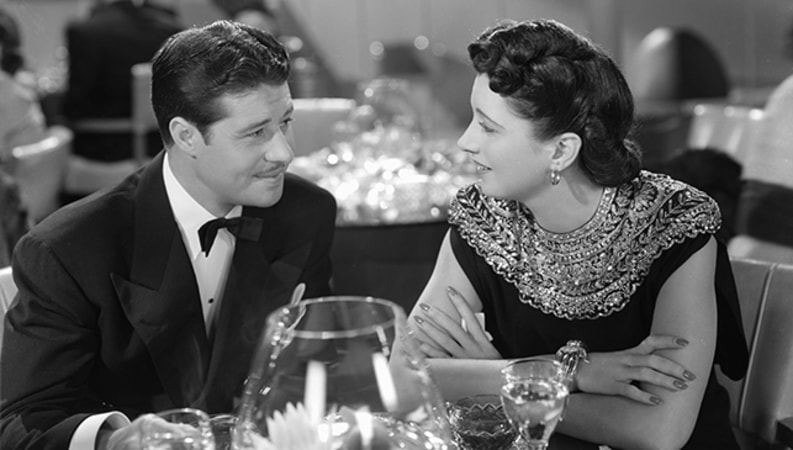 Don Ameche and Rosalind Russell in The Feminine Touch