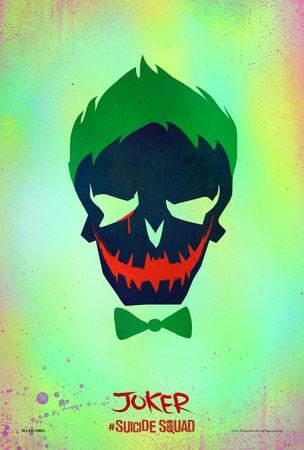 Suicide Squad Joker poster