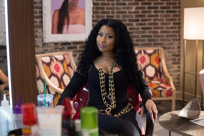NICKI MINAJ as Draya in Barbershop: The Next Cut