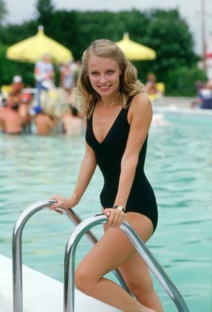 cindy morgan as lacey underall in caddyshack