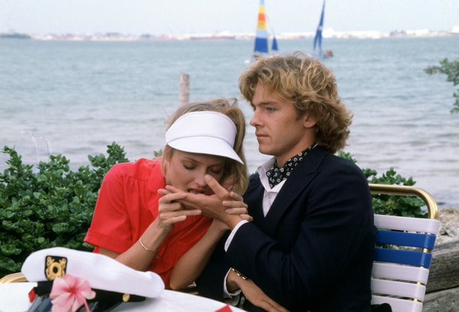 cindy morgan as lacey underall seduces Michael O'Keefe as danny noonan in caddyshack