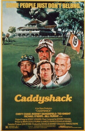 Caddyshack - Poster undefined