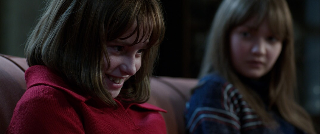 MADISON WOLFE as Janet Hodgson and LAUREN ESPOSITO as Margaret Hodgson
