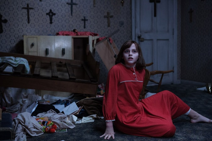 "MADISON WOLFE as Janet Hodgson in New Line Cinema's supernatural thriller ""THE CONJURING 2,"" a Warner Bros. Pictures release."