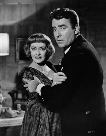bette davis and peter lawford star in the psychological thriller, dead ringer, on digital and dvd