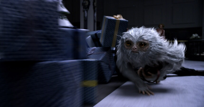 "A beast called a Demiguise in a scene from Warner Bros. Pictures' fantasy adventure ""FANTASTIC BEASTS AND WHERE TO FIND THEM,"" a Warner Bros. Pictures release."