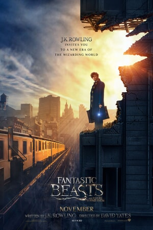 Fantastic Beasts and Where to Find Them - Eddie Redmanye as Newt Scamander