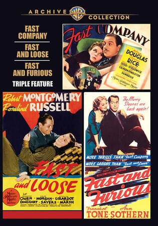 Fast Company/fast and Loose/fast and Furious - Triple Feature - Image - Image 1