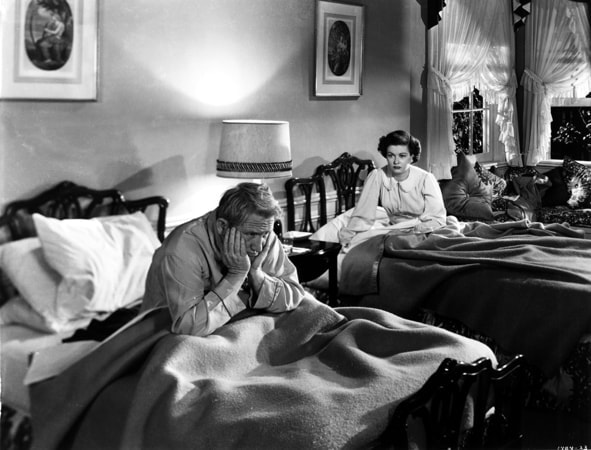 spencer tracy and joan bennett in father of the bride
