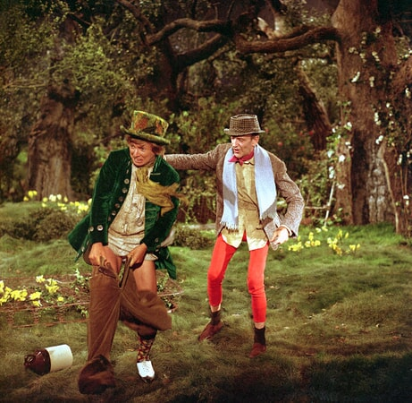 tommy steele and fred astaire in francis ford coppola's finian's rainbow available now on dvd and digital