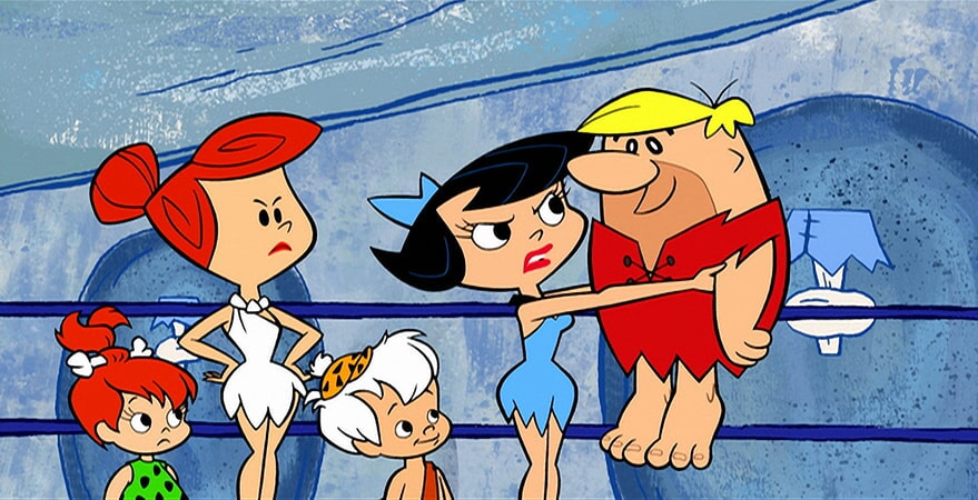 the flintstones and wwe stone age smackdown now on bluray dvd and digital