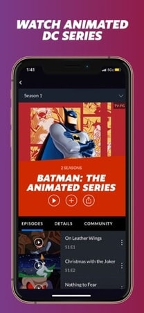 Watch Animated DC series