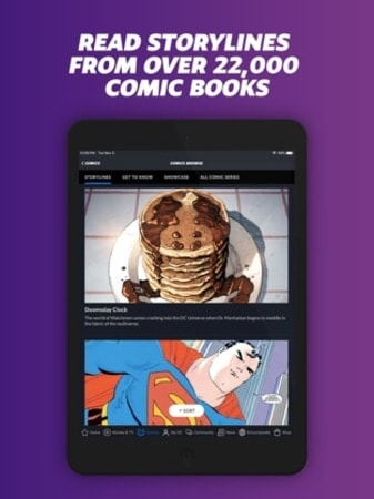 Read storylines from over 22,000 comic books