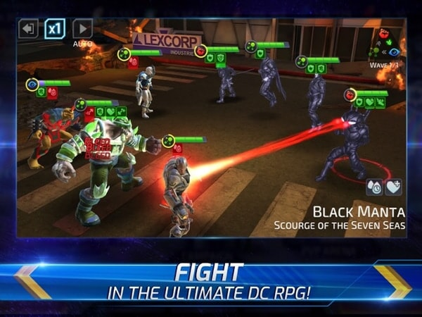 Fight in the ultimate DC RPG!