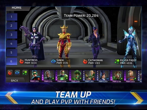 Team up and play PVP with friends!