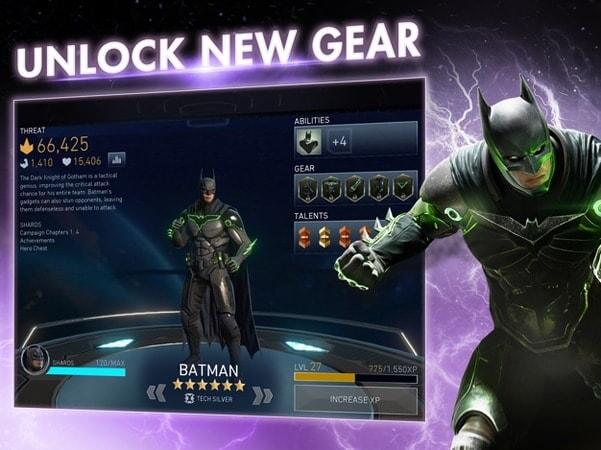 Unlock new gear
