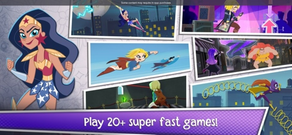Play 20+ super fast games!