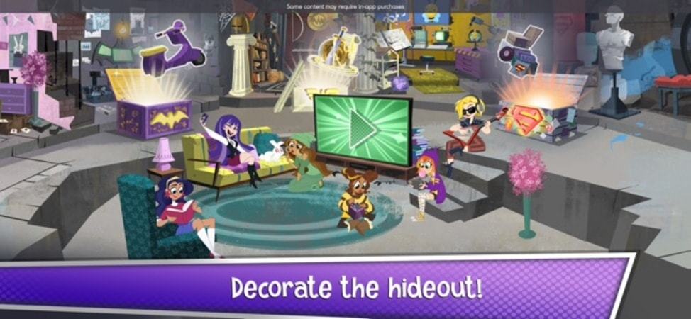 Decorate the hideout!