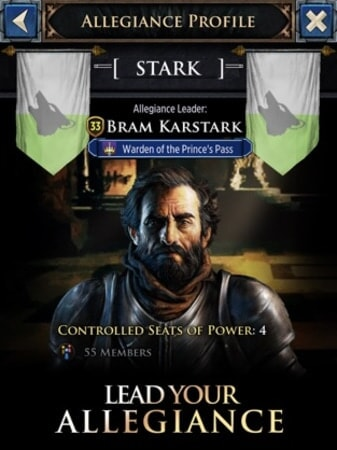 Lead your allegiance