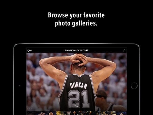 Browse your favorite photo galleries