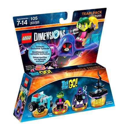 Teen Titans Go LEGO Dimensions expansion pack