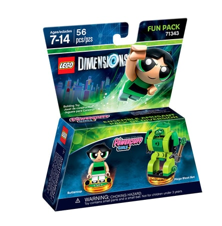 Powerpuff Girls LEGO Dimensions expansion pack