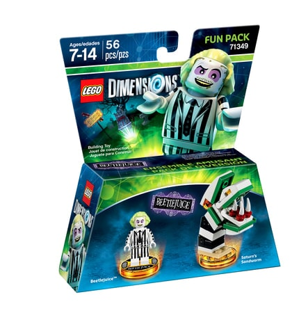 Beetlejuice LEGO Dimensions expansion pack