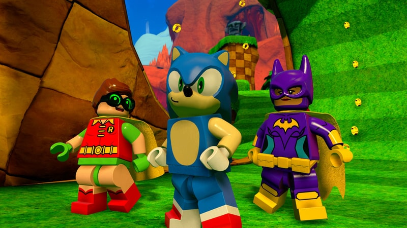 LEGO Dimensions: Robin, Sonic and Batgirl