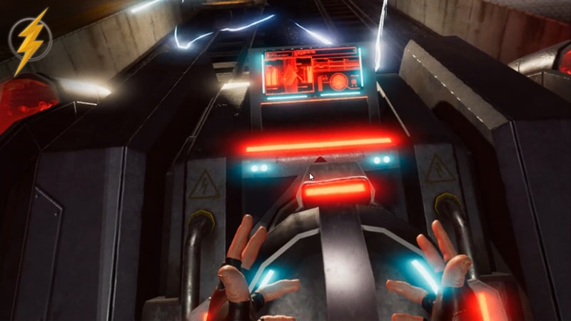 Justice League VR: The Complete Experience in the Batmobile