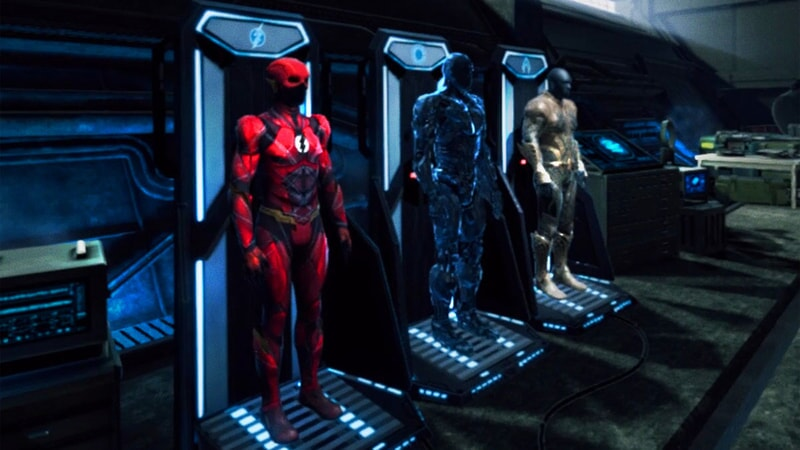 Justice League VR: The Complete Experience costumes