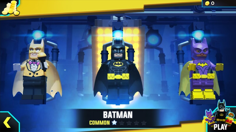 LEGO Batman Character Select: Batman