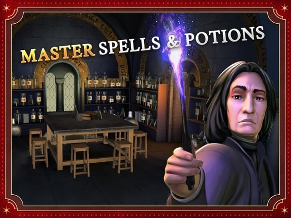 Master spells & potions