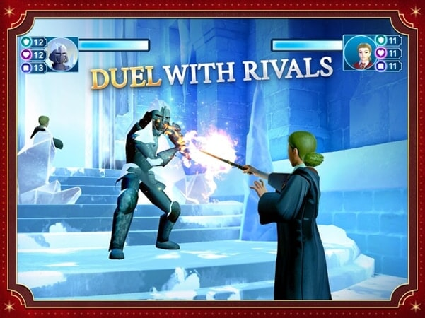 Duel with rivals
