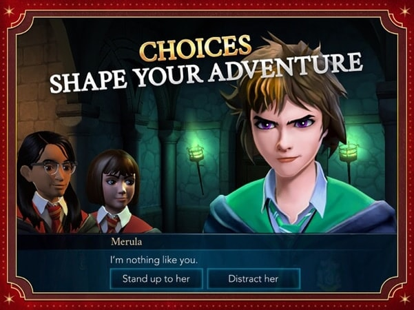 Choices shape your adventure