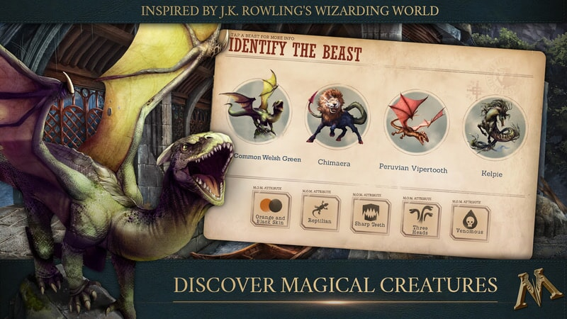 Fantastic Beasts Cases From the Wizarding World: Discover Magical Creations