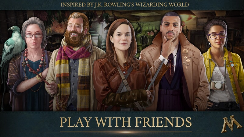 Fantastic Beasts Cases From the Wizarding World: Play with Friends