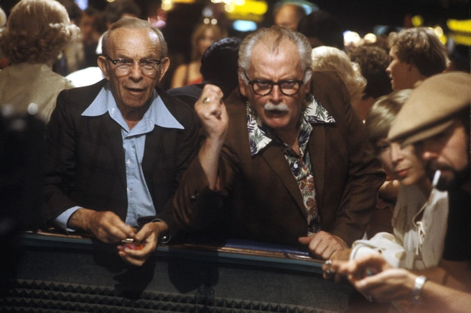george burns and art carney in going in style available now on dvd and digital