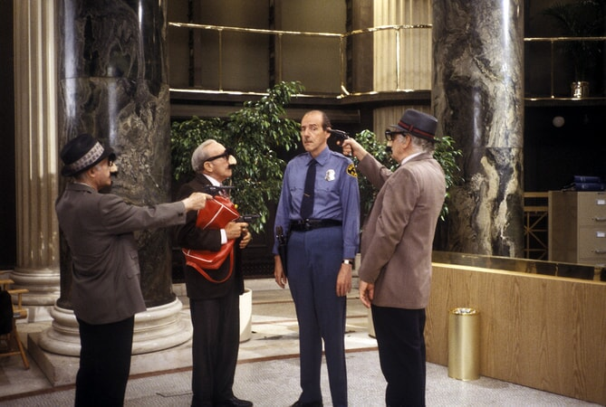 lee strasberg, george burns and art carney in going in style available now on dvd and digital