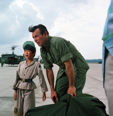 david janssen in the green berets on bluray, dvd and digital
